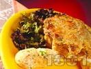 Рецепта Месни кексчета с кайма и ориз